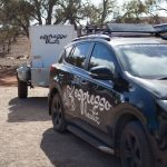 EB Car + The Party Trailer in Flinders Ranges